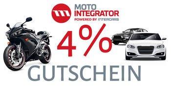 4% Motointegrator Gutschein auf ALLE Ersatzteile