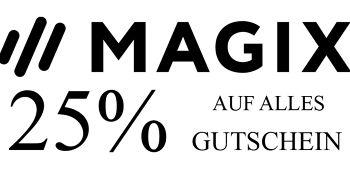 25% MAGIX Gutschein für Alles