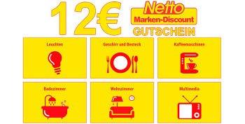 12 € Netto Gutschein für Artikel aus dem Wohnen-Sortiment