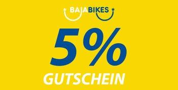 5% Baja Bikes Gutschein für alle Fahrradtouren