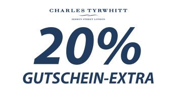 20 % Extra-Gutschein bei Charles Tyrwhitt