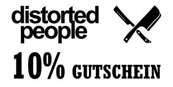 10% distorted people Gutscheincode für Lifestylemode
