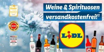 Weine & Spirituosen bei Lidl versandkostenfrei